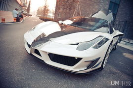 Mansory中国行 改装法拉利458 Italia