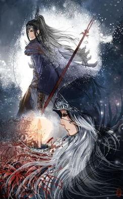 以剑之名 超有唯美范的剑侠古风插画