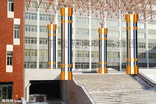 金属柱子 不锈钢柱子 大厅柱子图片
