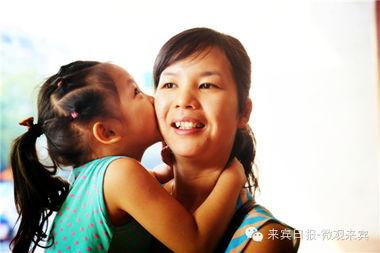 轻轻送上你的吻,就是给妈妈最好的安慰和奖励.-陪你一起玩啊