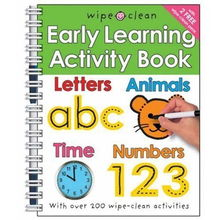 Wipe Clean Early Learning Activity Book Wipe Clean Early Learning ...