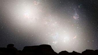 震撼模拟 银河系 仙女座星系大碰撞