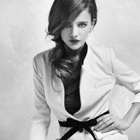 黑白色的欧美非主流女生头像只要我想要的个性-微信头像烛光黑白