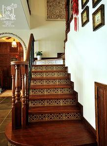 求教楼梯想贴砖,怎么施工