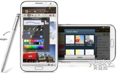 Note 3将配置全高清1080 x 1920像素的5.7英寸显示屏,搭载ARM11处...