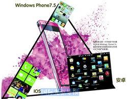 对全球最大的电脑软件供应商美国微软公司来说,智能手机市场俨然是...