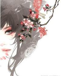 人面桃花…_来自猫记红豆汤的图片分享-堆糖网-古风 桃花