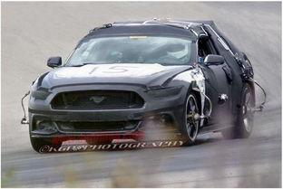 【新款福特野马Mustang测试车照片(图片来源:Autoblog.com)】-疑...