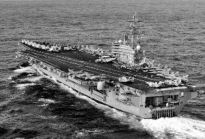 ...军拟派航母进入朝鲜半岛附近水域.-对朝失耐心