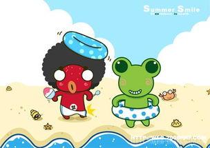 ...nbawa可爱青蛙王子漫画插画系列设计