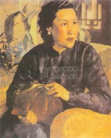 柳条鞭子-徐悲鸿绘画作品欣赏