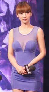 红蓝av-《画壁》预告片发布会现场,星光熠熠,身着紫色透视短裙的柳岩真空...
