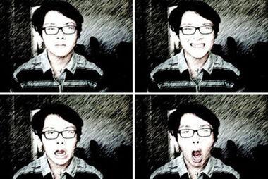 唐国强16岁儿子私房照曝光 帅气斯文留学美国