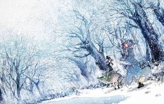 描写下雪的唯美句子