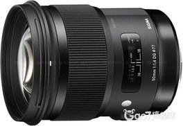 外媒公布适马Art 50mm f 1.4镜头测试结果