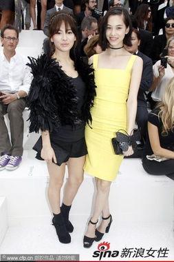 ...腿,个性抢镜.日本模特水原希子身穿亮眼黄裙大秀高挑身材.-...