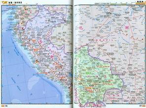 玻利维亚 地图