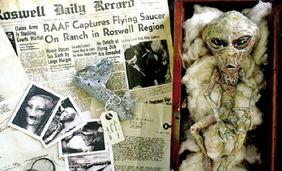 称,他们在位于新汉普郡的兰开斯顿和康科德之间的公路上遇到了UFO...