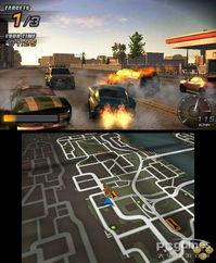 超极学生都市游-3DS首款城市飚车游戏 极道车魂背叛者 新情报
