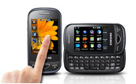 Full Touch Screen With Slide Out Keyboard -Stylish Socialiser B3410 ...