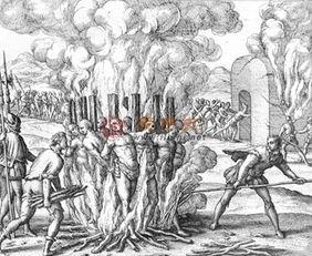 美国对印第安人刀砍火烧 最血腥的长期种族灭绝