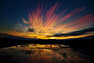...在很多照片中,天空都出现涟漪、彩云、星迹等特征.莫洛伊的照片...