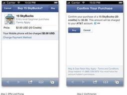 成应用内购买(in-app purchase)的支付过程.   大量Facebook用户...