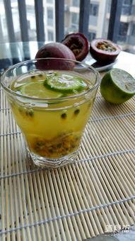 百香果柠檬蜂蜜汁怎么做