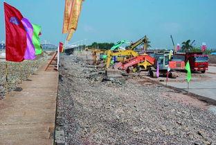 高集海堤改造杏林段施工现场-历史上的今天 6月26日