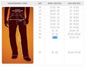 美国牛仔裤尺码对照表详解 轻松掌握美国牛仔裤尺码无压力