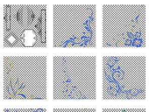 ...纹理PNG透明背景名扣素材图片 模板下载 12.96MB 其他大全 标志丨...