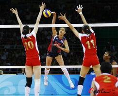 中国女排2 3遭美国逆转