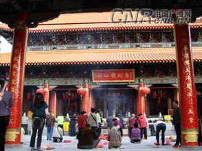 黄大仙祠旺盛的香火-京津旅游专列冬游香港行