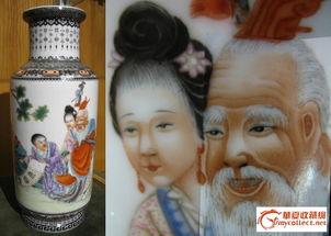仙神藏-粉彩神仙 棒槌 瓶,来自藏友千山暮云