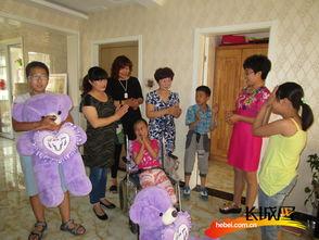 儿童邻里故事汇 走进残疾儿童家