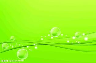 绿色清淡背景图片