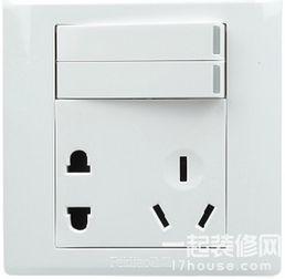 开关插座的接线法(单独开关插座,带开关插座)
