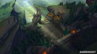 ...狂狼对吼的图案,剑拔弩张的风格十分契合主题.-英雄联盟 召唤师...