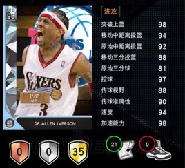 NBA2K16 MT模式钻石卡艾弗森视频解析 钻石卡艾弗森怎么用