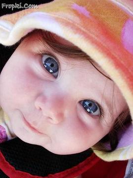 外国宝宝的漂亮艺术照