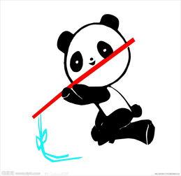 如何制作可爱的熊猫书签