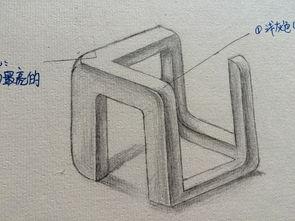 h字母设计-手绘作品