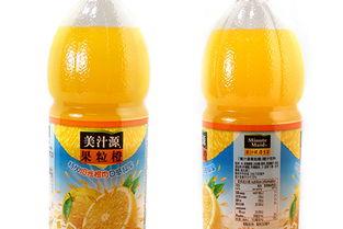 琥源-美汁源果粒橙 1.25L 瓶