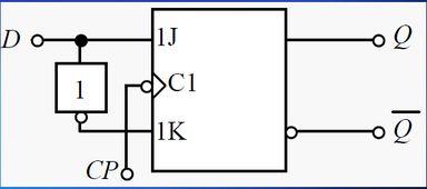 JK触发器 电工电子题目