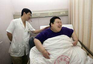 ...岁患有严重代谢综合症、极重度病理性肥胖的女孩黄晴接受治疗后,...