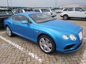...日获悉,17款宾利欧陆GT4.0T港口行情,新款欧陆GT稀缺颜色配置...