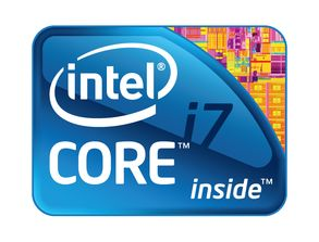 Intel酷睿i7标志矢量图