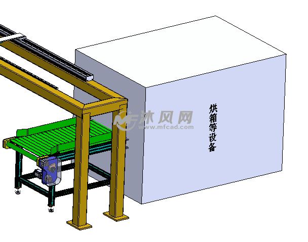 散热器浸钎焊剂流水线设备