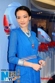 加贺美由贵第三诊察室-舒淇身着蓝色上衣十分亮眼.   图片谢绝转载   舒淇11日出席某品牌