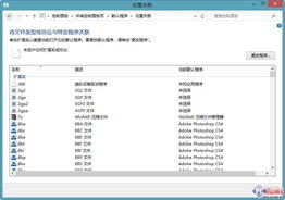 根据文件关联默认程序-Win8.1使用技巧 高效地管理应用程序
